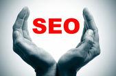 Seo, optimalizace pro vyhledávače — Stock fotografie