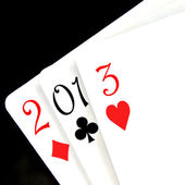 2013, the new year — Stock Photo