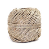 Coil of hemp twine — Stock Photo