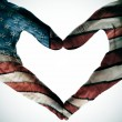 Stock Photo: Americin heart