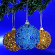Christmas balls - Foto Stock