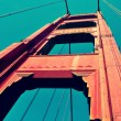 Stock Photo: Golden Gate Bridge, SFrancisco, United States
