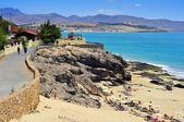 Esmeralda Beach in Fuerteventura, Canary Islands, Spain — Stock Photo