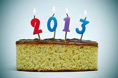 2013, o ano novo — Foto Stock