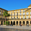 Plaza Nueva in Bilbao, Spain — Stock Photo