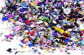 Kovový konfety — 图库照片