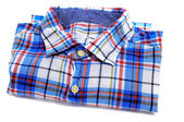 Plaid patterned shirt — Stock Photo
