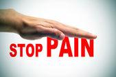 Aliviar el dolor — Foto de Stock