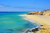 Sotavento Beach in Fuerteventura, Canary Islands, Spain — Stock Photo