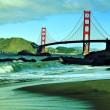 Golden Gate Bridge, San Francisco, United States - Stock Photo