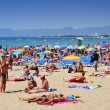 Stock Photo: Llevant Beach, in Salou, Spain