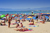 Llevant Beach, in Salou, Spain — Photo