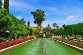 Alcazar de los Reyes Cristianos in Cordoba, Spain — Stock Photo