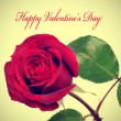 Foto Stock: Happy valentines day