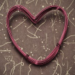 Heart-shaped wire roll — Stock Photo #18498659