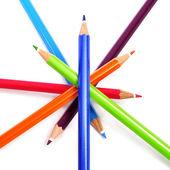 Crayon pencils — Photo