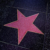 Hollywood Walk of Fame in Los Angeles, United States — Stockfoto