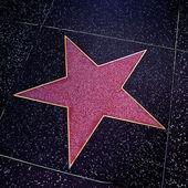 Hollywood walk van roem in los angeles, verenigde staten — Stockfoto