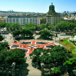 Placa Catalunya in Barcelona, Spain — Foto Stock
