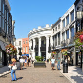Rodeo drive, beverly hills, usa — Stockfoto