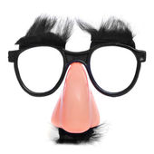 Fake nose and glasses — Stock Photo