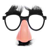 Gafas y nariz falsa — Foto de Stock