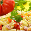 Pasta salad - Lizenzfreies Foto