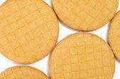 Stroopkoeken, dutch caramel biscuits — Stock Photo