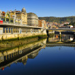 Estuary of Bilbao, Spain — Stock Photo #19626789
