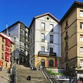 Mallona Stairs in Bilbao, Spain — Stock Photo