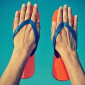 Flip-flops — Foto de Stock