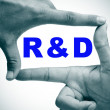 Stock Photo: RnD, research and development