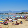 Stock Photo: Prat de en Fores Beach, in Cambrils, Spain
