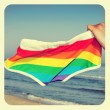 Gay beach — Stock Photo