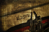 Murder — Stock Photo