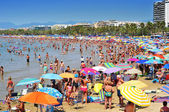 Llevant Beach, in Salou, Spain — 图库照片
