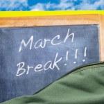 ������, ������: March break