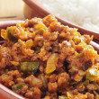 Picadillo, traditional dish in many latin american countries — Stock Photo #21382125