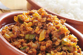 Picadillo, traditional dish in many latin american countries — Stock Photo