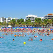 Llevant Beach, in Salou, Spain - Foto de Stock