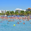 Llevant Beach, in Salou, Spain - Foto Stock