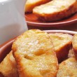Torrijas, typical spanish dessert for Lent and Easter — Stock Photo #21637989