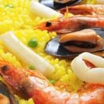 Spanish paella — Stock Photo #21987967