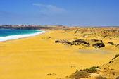 Praia de castillo em el cotillo, fuerteventura, ilhas canárias, spa — Foto Stock