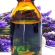 Stock Photo: Lavender essence