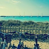 Ses Illetes Beach in Formentera, Balearic Islands, Spain — Stock Photo
