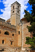 Monastery of Santes Creus, Spain — Foto Stock