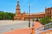 Plaza de Espana in Seville, Spain — Stock Photo