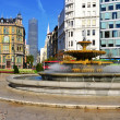 Moyua Square in Bilbao, Spain — Stock Photo