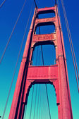 Golden Gate Bridge, San Francisco, United States — Stock Photo